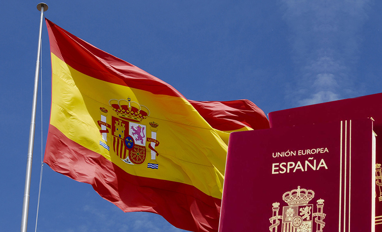 pasaporte-bandera-españa